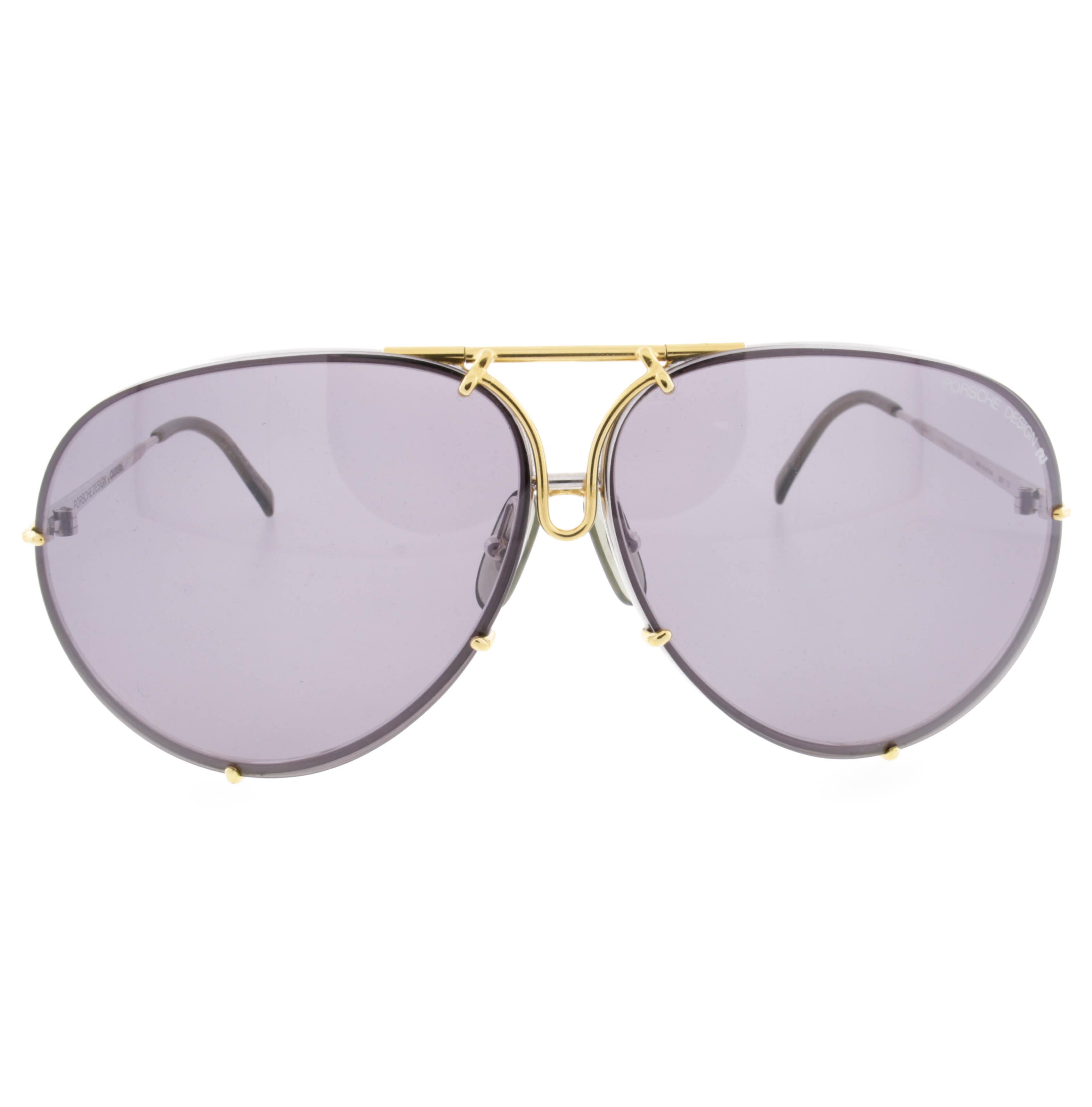Gold Frame Carrera Sunglasses : Vintage Porsche Carrera 5621 Mens Gold Platinum Frame ...