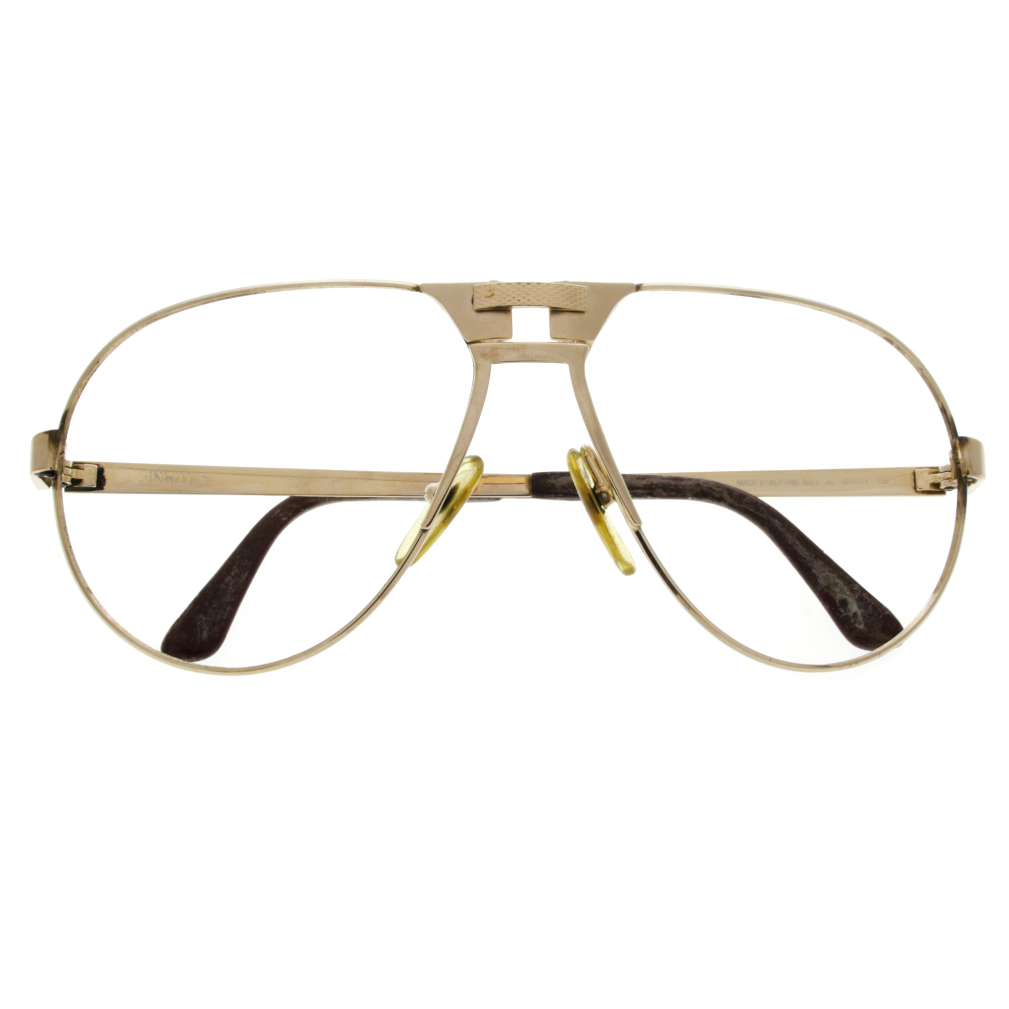 1980S Vintage Dunhill Aviator Glasses Frame 6083 eBay